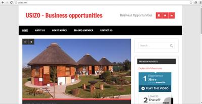 Usizo - business opportunity